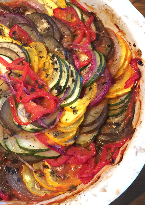 Harvesting Late Summer Creativity With Ratatouille A Woman Sconed